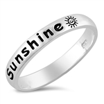 Silver Ring - You Are My Sunshine - $5.34