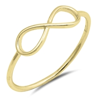 Silver Ring - Infinity - $1.94