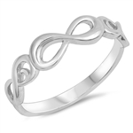Silver Ring - Infinity - $4.4