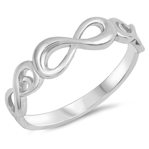 Silver Ring - Infinity - $4.00
