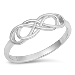 Silver Ring - Infinity - $3.22