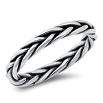 Silver Ring - Braid - $5.53