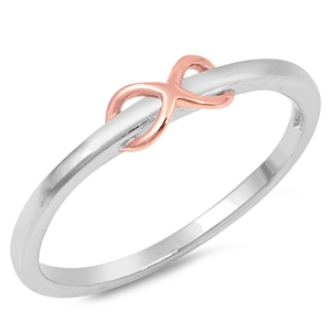Silver Ring - Infinity - $2.95