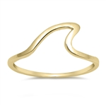 Silver Ring - Wave - $2.85