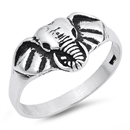 Silver Ring - Elephant - $4.00