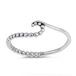 Silver Ring - Wave - $2.34