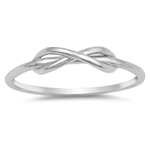 Silver Ring - Infinity - $2.85