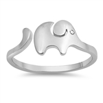 Silver Ring - Elephant - $3.00