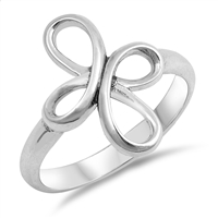 Silver Ring - Cross - $4.88