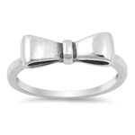 Silver Ring - Ribbon - $3.84