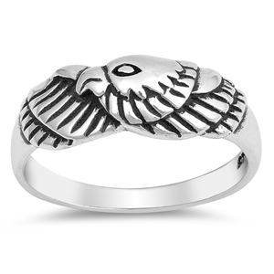 Silver Ring - Eagle - $4.06
