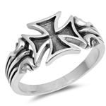 Silver Ring - Independent Cross - $6.21