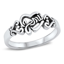 Silver Ring - Love Jesus - $4.44