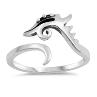 Silver Ring - Dragon - $3.19