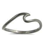 Silver Ring - Wave - $2.42