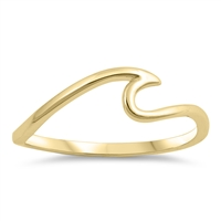 Silver Ring - Wave - $2.44