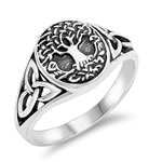 Silver Ring - Celtic Tree of Life - $5.50