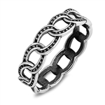 Silver Ring - Chain - $3.67