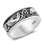 Silver Ring - Dolphin - $7.42