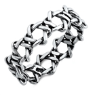 Silver Ring - Braid - $3.26