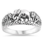 Silver Ring - Elephant - $5.05