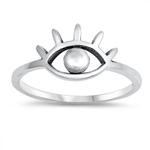 Silver Ring - All Seeing Eye - $2.41