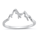 Silver Ring - Mountain - $2.53