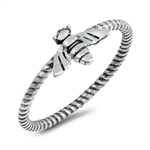 Silver Ring - Bee - $2.46