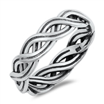 Silver Ring - Braid - $4.68