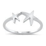 Silver Ring - Starfish - $2.62