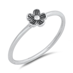 Silver Ring - Flower - $2.24