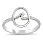 Silver Ring - Wave - $3.51
