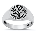 Silver Ring - Tree of Life - $4.65