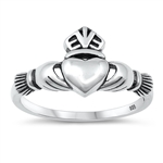 Silver Ring - Claddagh - $3.48