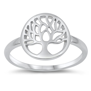 Silver Ring - Tree of Life - $2.97
