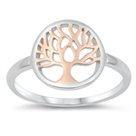 Silver Ring - Tree of Life - $3.72