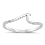 Silver Ring - Wave - $2.67