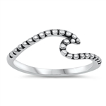 Silver Ring - Wave - $2.74