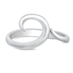 Silver Ring - Wave - $4.42