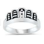 Silver Ring - Crown - $3.90