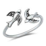Silver Ring - Sparrows - $2.50