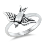 Silver Ring - Sparrow - $3.67