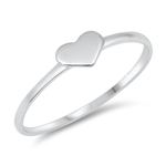 Silver Ring - Heart - $1.82