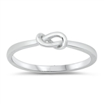 Silver Ring - Knot - $2.49