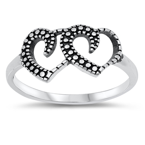 Silver Ring - Heart - $2.70