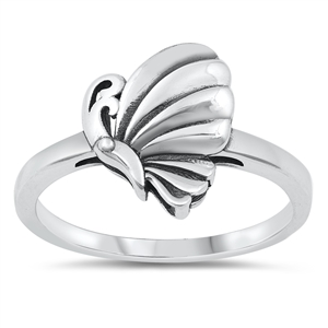 Silver Ring - Butterfly - $3.58