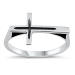Silver Ring - Cross - $3.67