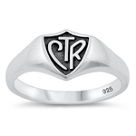 Silver Ring - Choose The Right - $4.04