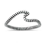 Silver Ring - Wave - $2.45