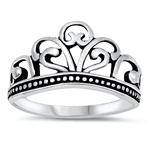 Silver Ring - Crown - $4.22